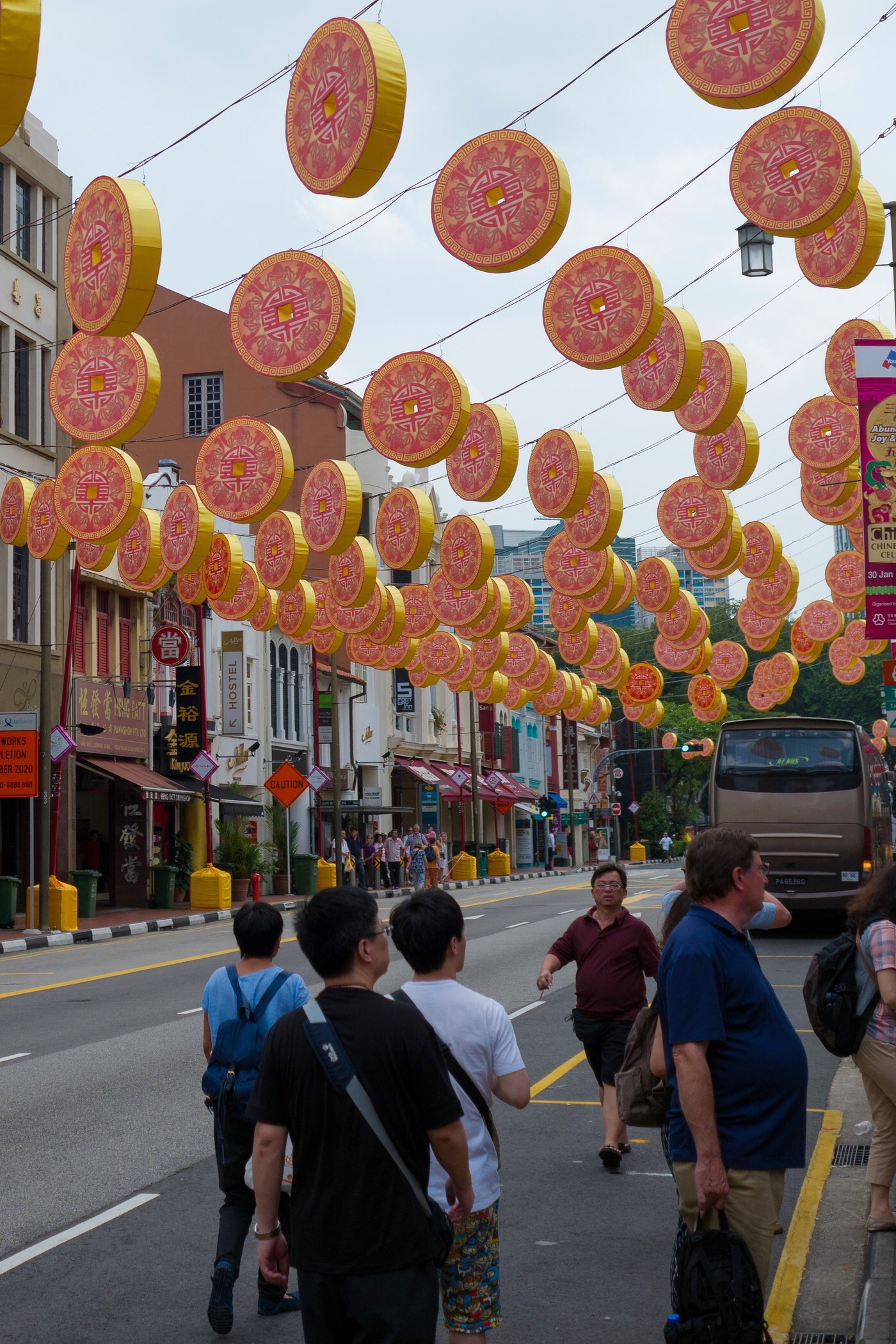 Chinese New Year latterns — Singapore