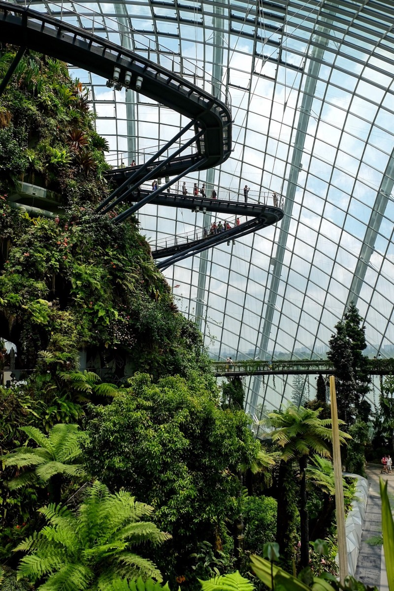 Gardens by the Bay – Cloud Forest — Singapore