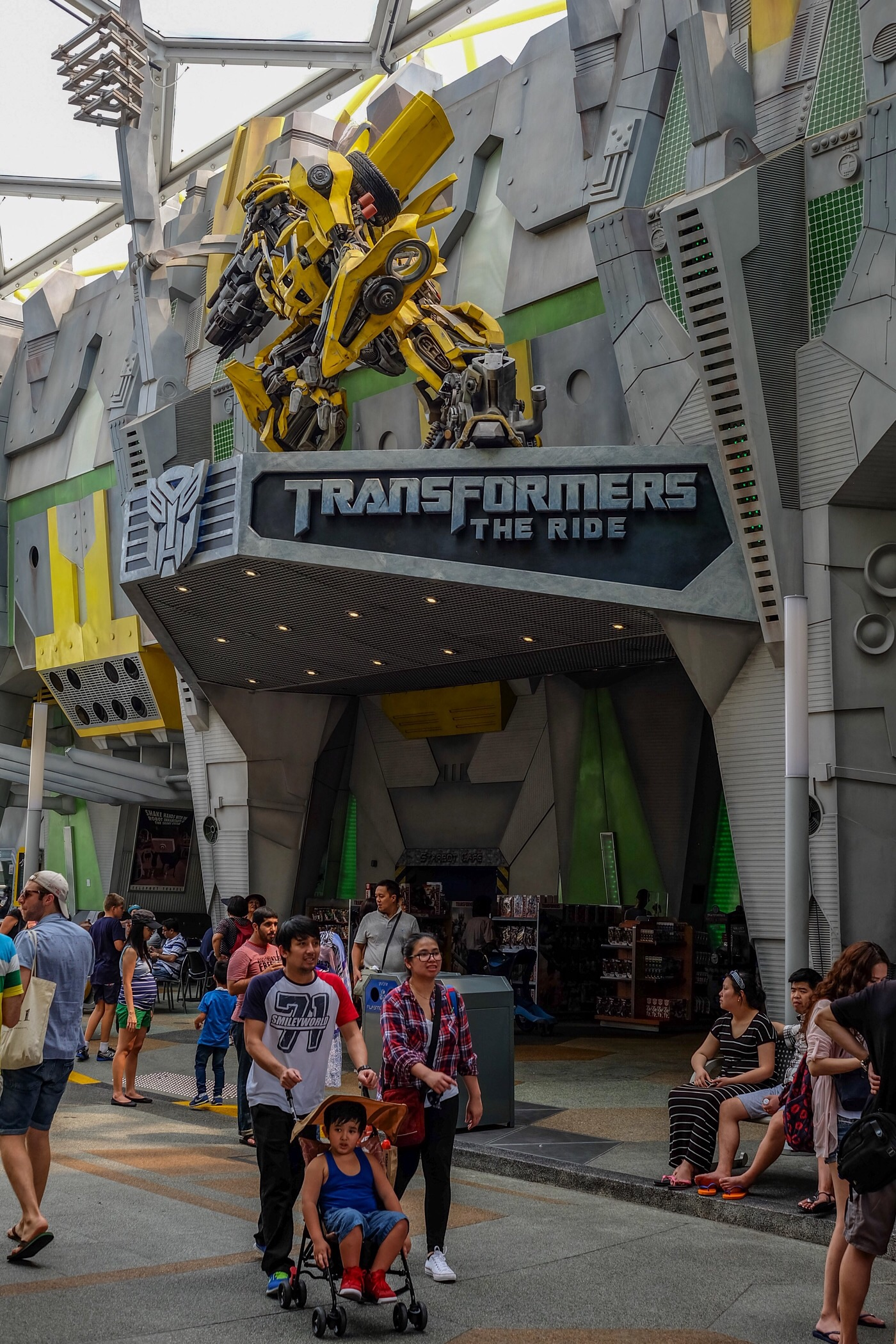 Transformers The Ride — Universal Studios Singapore