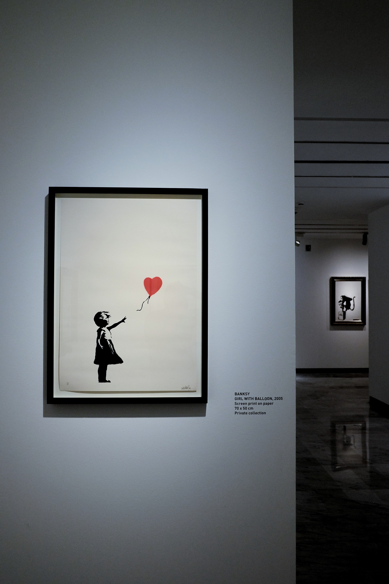 Girl with Balloon – Banksy