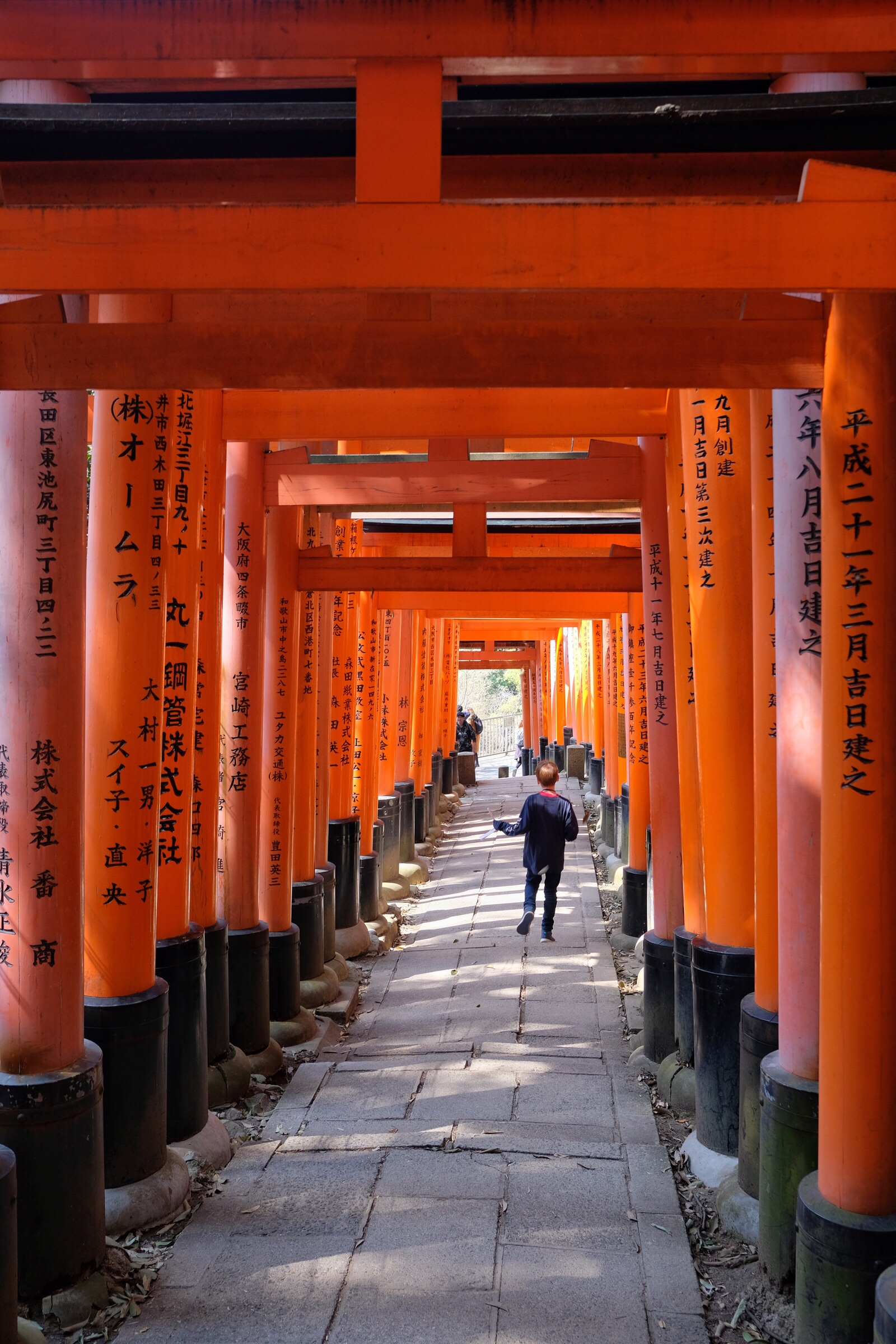 Japan - Kyoto - Fushimi Inari Taisha - Walking
