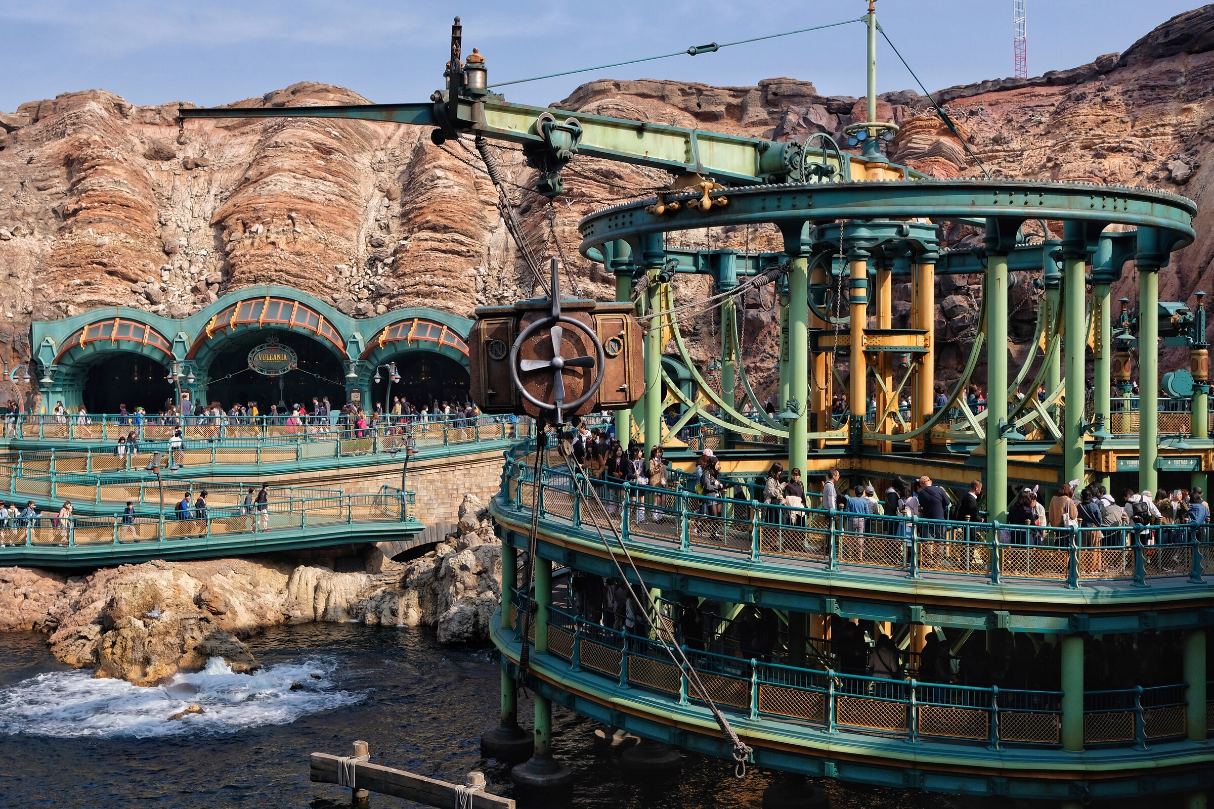 Japan – Tokyo – DisneySea – 20,000 Leagues Under the Sea